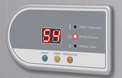 панель управления водонагревателя Термекс FSD 80V