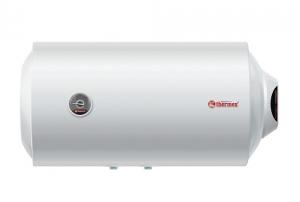 Горизонтальный узкий электрический водонагреватель Thermex ESS 50H Silverheat