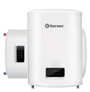 Плоский накопительный водонагреватель Thermex Bravo 30 литров, с баком из нержавейки, мощность 1,2 / 2 кВт, универсальный монтаж (вертикальный / горизонтальный)