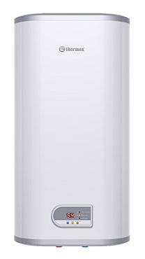 Плоский водонагреватель Thermex FSD 80V, цвет белый, объем 80 литров, 2 режима мощности 1,3 / 2 кВт, внутренний бак из нержавейки