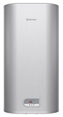 Плоский водонагреватель Thermex FSD 80V Diamond, цвет серебристый, объем 80 литров, 2 режима мощности 1,3 / 2 кВт, внутренний бак из нержавейки