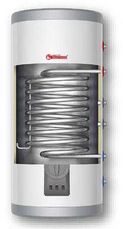 THERMEX IRP 200V Combi - водонагреватель комбинированный (бойлер косвенного нагрева), внутренний бак из нержавеющей стали, мощность теплообменника 24 кВт, объем 200 литров
