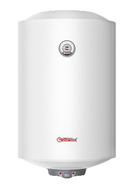 Электрический водонагреватель (бойлер) узкий с механическим управлением Thermex Nova 50V Slim - 50 литров, 2 кВт, двойной сухой ТЭН