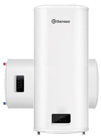 Плоский накопительный водонагреватель Thermex Optima 100 литров, 1,2 / 2 кВт, универсальный монтаж (вертикальный / горизонтальный), покрытие бака - биостеклофарфор