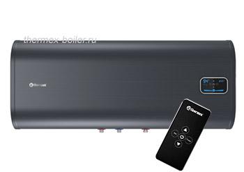 Горизонтальный водонагреватель THERMEX ID 100 H PRO с пультом дистанционного управления, настенный, плоский, объемом 100 литров в СПБ