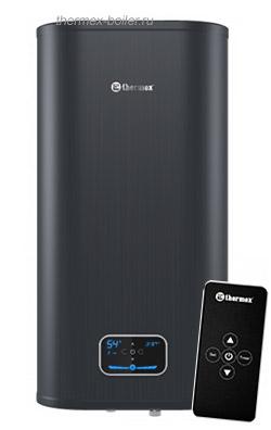 Вертикальный водонагреватель THERMEX ID 50 V PRO с пультом дистанционного управления, настенный, плоский, объемом 50 литров в СПБ