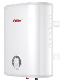 Недорогой плоский водонагреватель THERMEX Ceramik 30 V объемом 30 литров настенный накопительный с механическим управлением и тремя режимами нагрева в СПБ