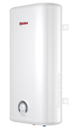 Недорогой плоский водонагреватель THERMEX Ceramik 50 V объемом 50 литров настенный накопительный с механическим управлением и тремя режимами нагрева в СПБ