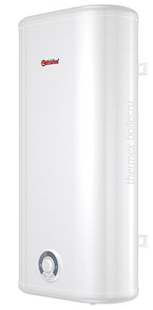 Недорогой плоский водонагреватель THERMEX Ceramik 80 V объемом 80 литров настенный накопительный с механическим управлением и тремя режимами нагрева в СПБ