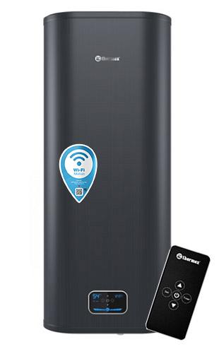 Водонагреватель THERMEX ID 100V PRO Wi-Fi с пультом дистанционного управления, настенный, плоский, объемом 100 литров в СПБ