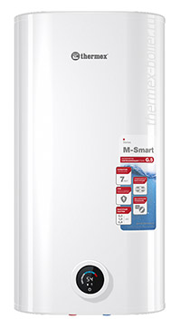 плоский накопительный водонагреватель THERMEX M-Smart MS 80 V PRO объемом 80 литров с сухим ТЭНом механическим управлением и 3 режимами нагрева в СПБ
