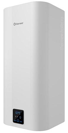 Водонагреватель THERMEX Smart 100 V объемом 100 литров с сухим ТЭНом и баком из нержавеющей стали, настенный, накопительный, прямоугольной формы в СПБ