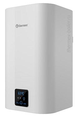 Водонагреватель THERMEX Smart 50 V объемом 50 литров с сухим ТЭНом и баком из нержавеющей стали, настенный, накопительный, прямоугольной формы в СПБ