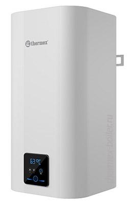Водонагреватель THERMEX Smart 80 V объемом 80 литров с сухим ТЭНом и баком из нержавеющей стали, настенный, накопительный, прямоугольной формы в СПБ