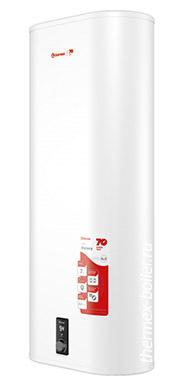 Плоский настенный накопительный электрический водонагреватель THERMEX Victory 100 V объемом 100 литров с внутренним баком из нержавеющей стали и механическим управлением в СПБ